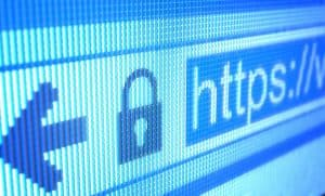 close up photo of ssl certificates bar and address
