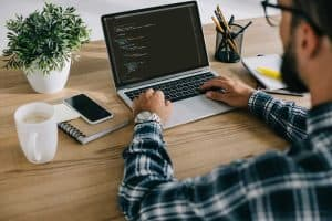 web developer does web caching on website