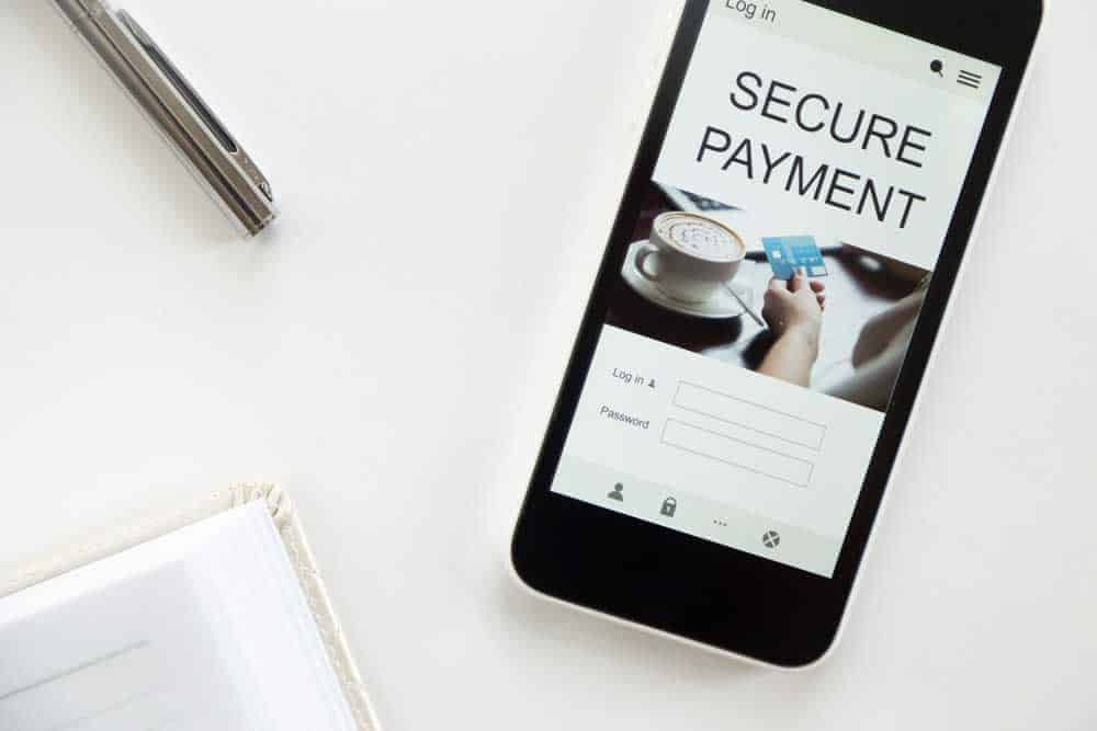 Secure payment on mobile