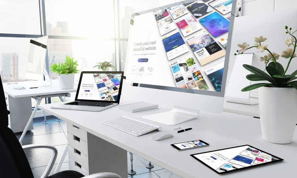 redesign a beautiful website