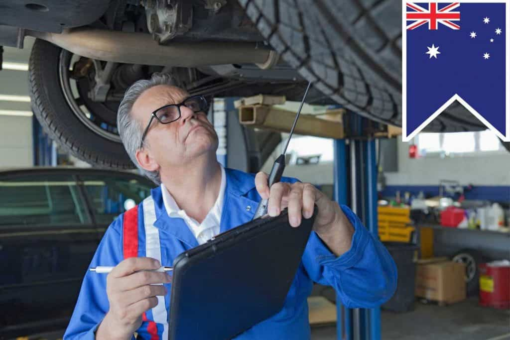 auto repair shops in Australia legislation