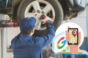 auto repair shops need google my business