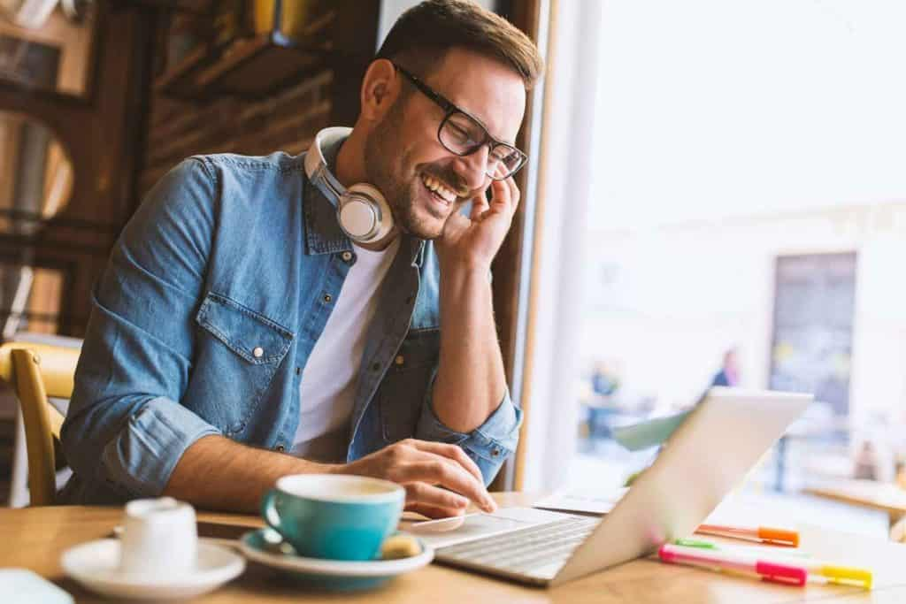 Man working as a Creative Entrepreneur