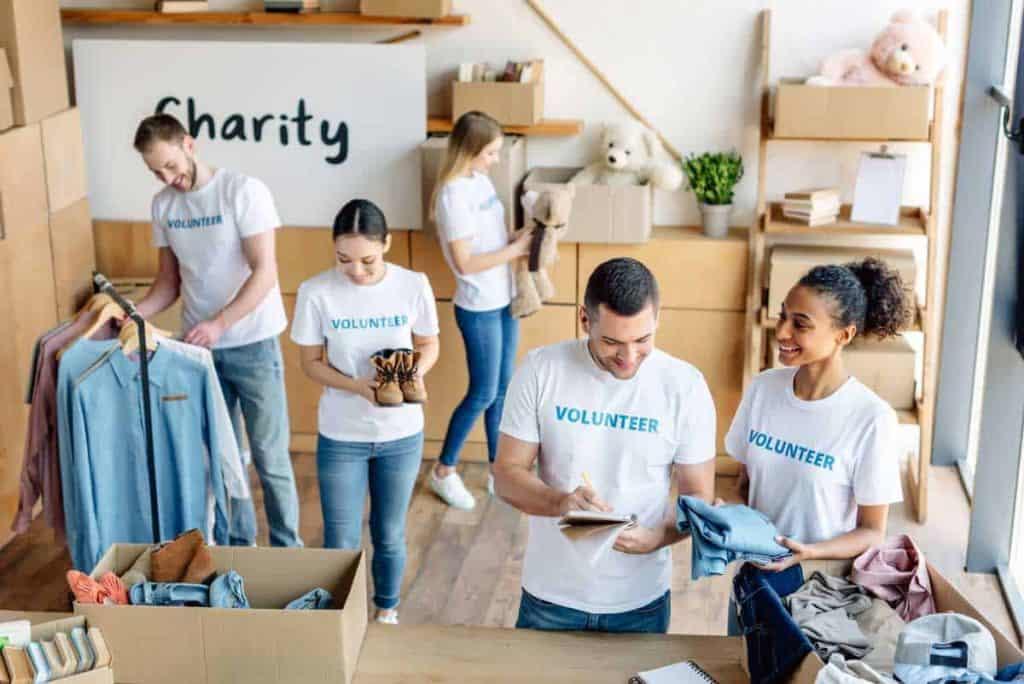 nonprofit organizations handling donations