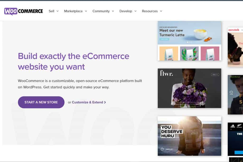 woocommerce e-commerce platform