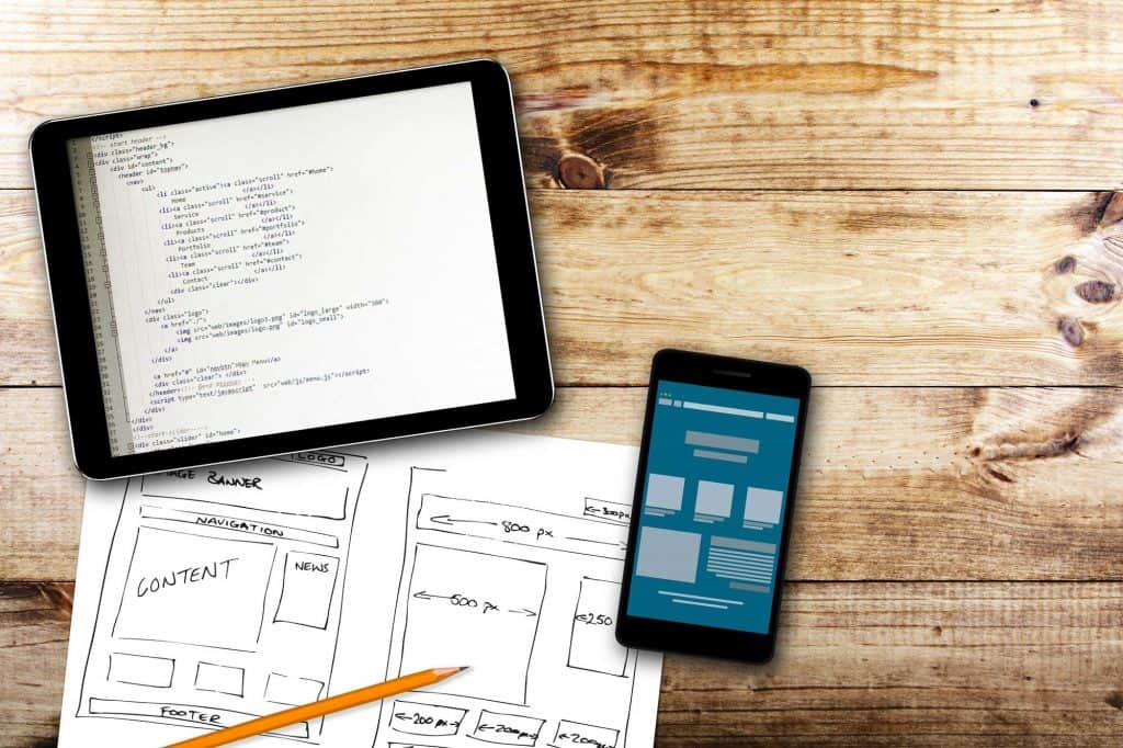 plan your mobile responsive design
