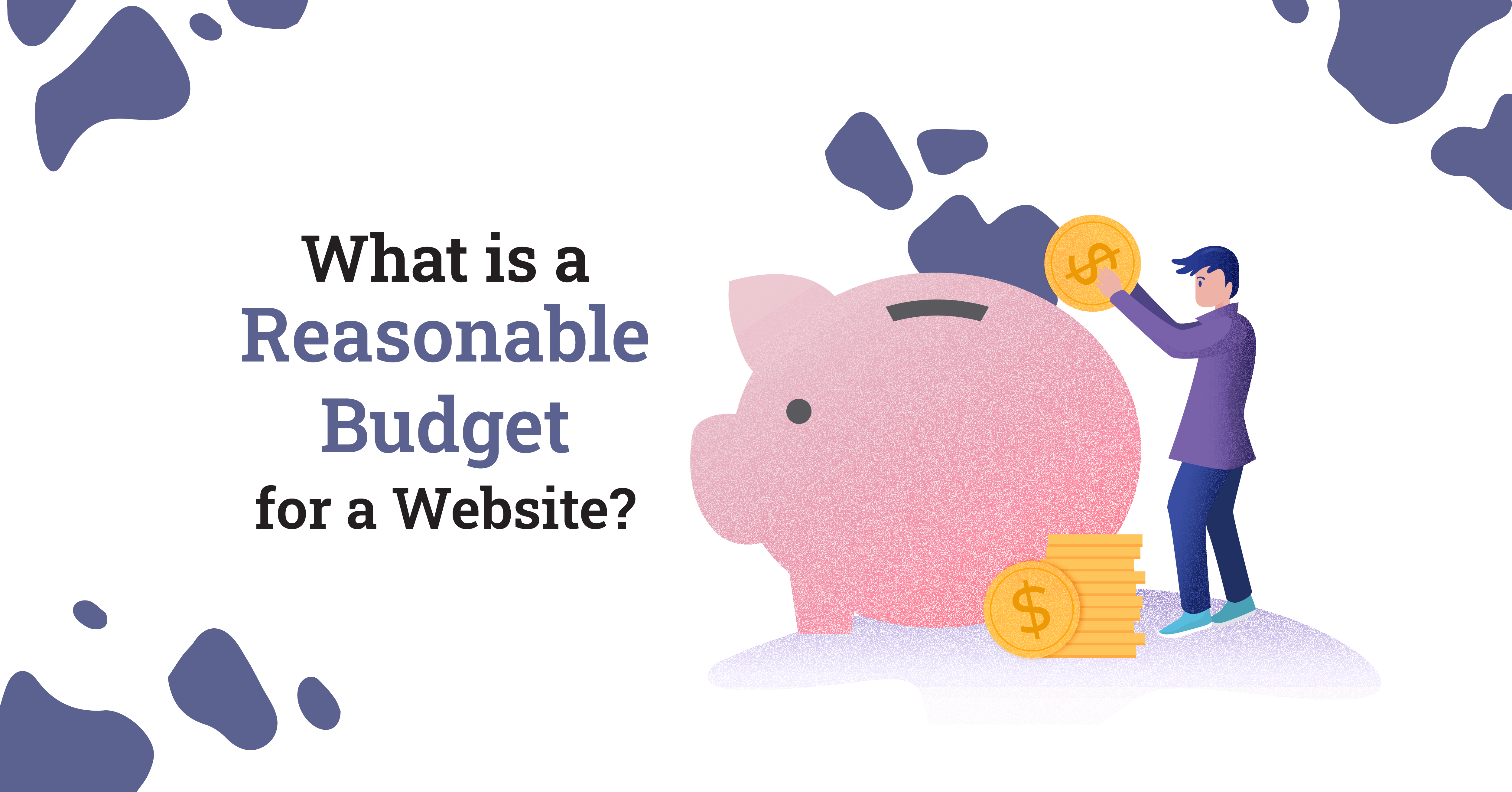 What is a reasonable budget for a website?