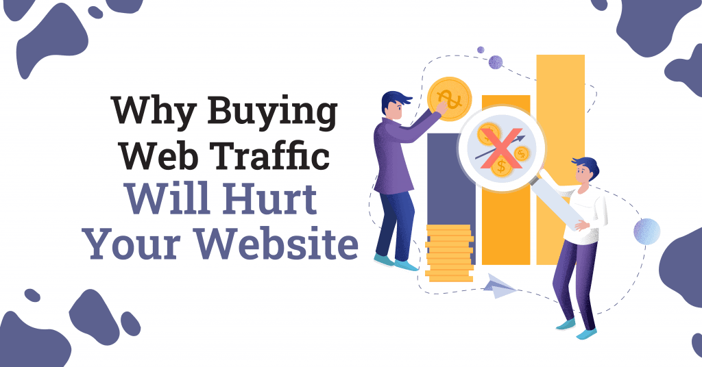 Why Buying Web Traffic Will Hurt Your Website