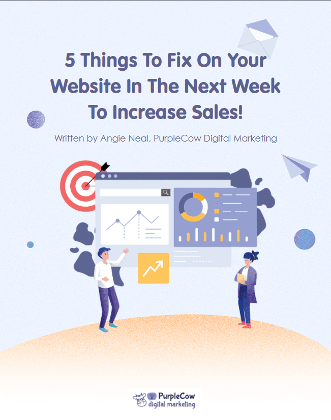 5 Things to Fix in The Next Week to Increase Sales ebook